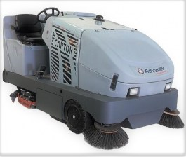 Nilfsik Advance Captor 4800 Battery Operated Rider Sweeper Scrubber